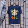 Weed The Smoke Circle 420 Shirt S By AllezyShirt