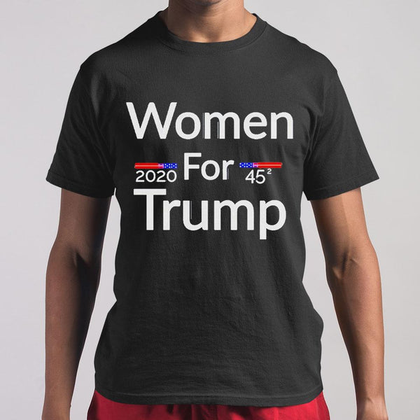 Women For Trump 2020 45 T-shirt M By AllezyShirt