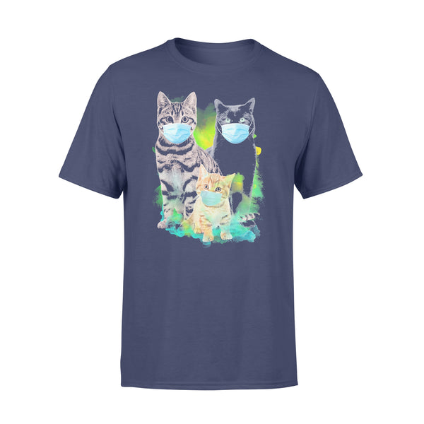Cats Wear Medical Mask Covid-19 Shirt XL By AllezyShirt