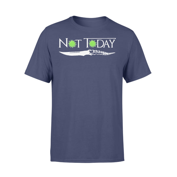 Coronavirus Not Today Knife T-shirt XL By AllezyShirt