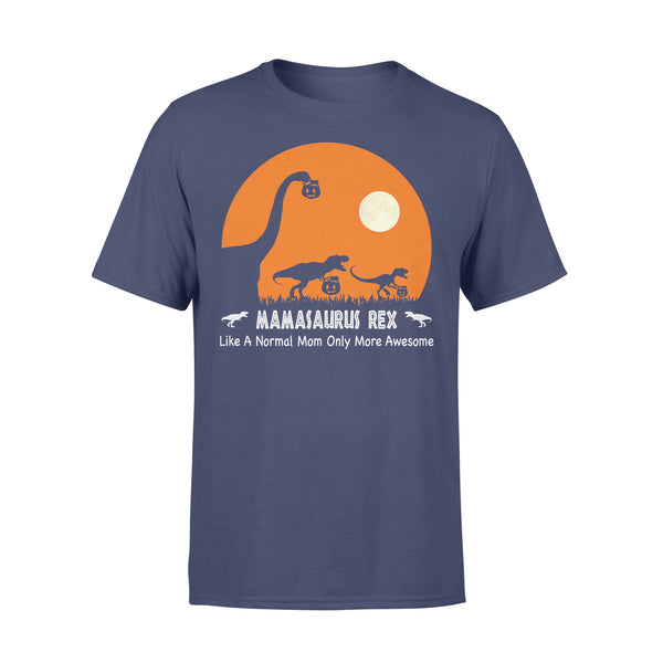 Mamasaurus Rex Hallowen Like A Normal Mom Only More Awesome T-shirt XL By AllezyShirt