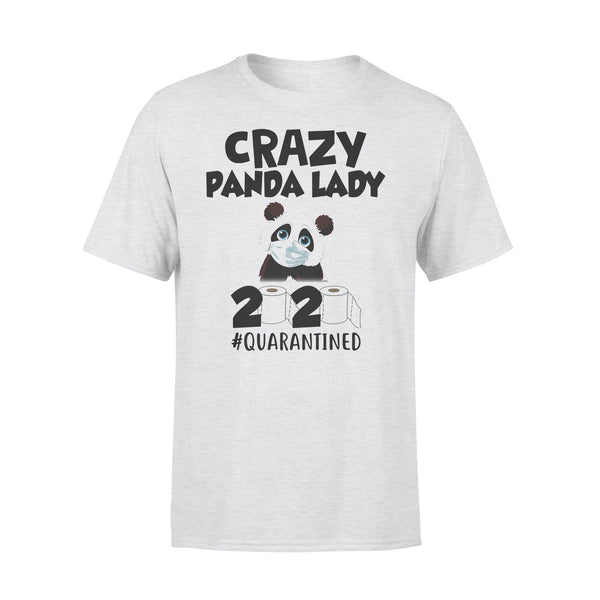 Crazy Panda Lady 2020 Quarantined Toilet Paper Mask Covid-19 T-shirt XL By AllezyShirt