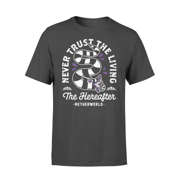 Never Trust The Living The Hereafter Netherworld T-shirt L By AllezyShirt