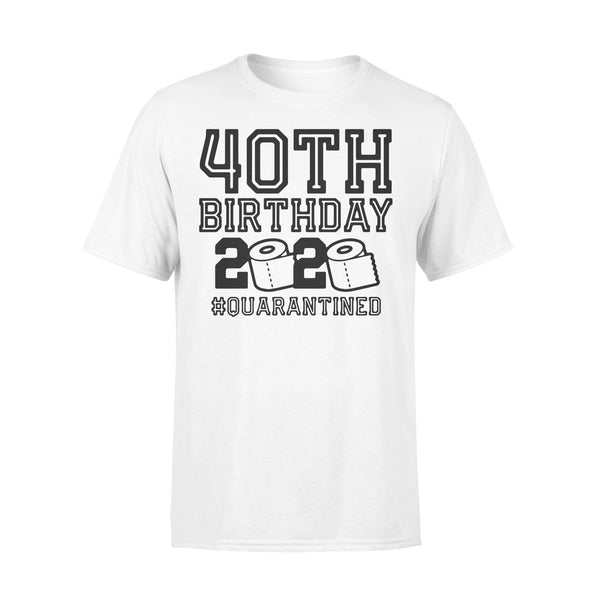 40Th Birthday 2020 Toilet Paper #quarantined T-Shirt L By AllezyShirt