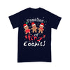 Teacher Christmas Tiny Cookies T-shirt M By AllezyShirt