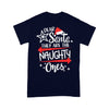Merry Christmas Dear Santa They Are Naughty Ones T-shirt XL By AllezyShirt