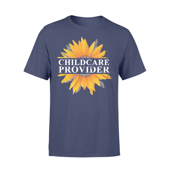 Sunflower Childcare Provider Love What You Do T-shirt XL By AllezyShirt
