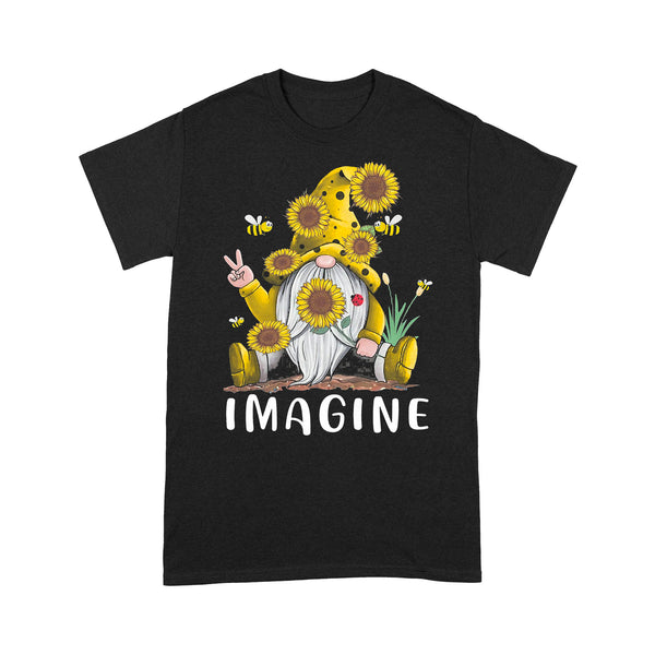 Gnome Sunflower Imagine T-shirt L By AllezyShirt