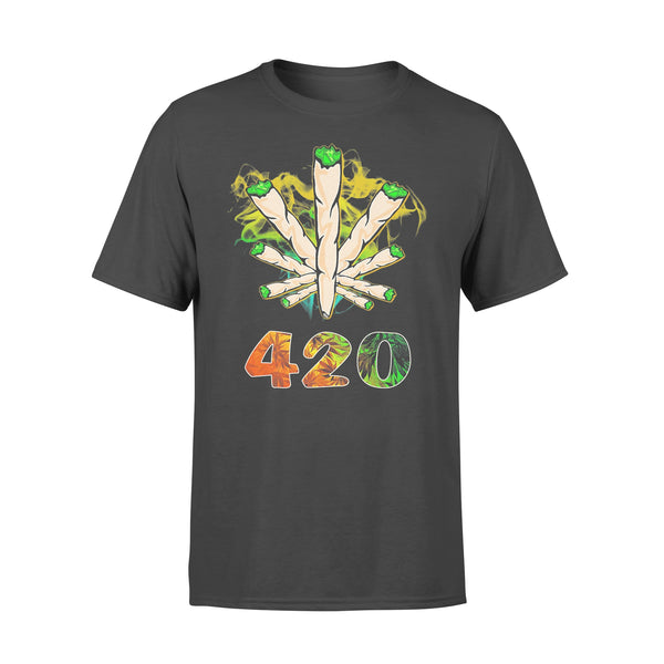 Weed The Smoke Circle 420 Shirt L By AllezyShirt