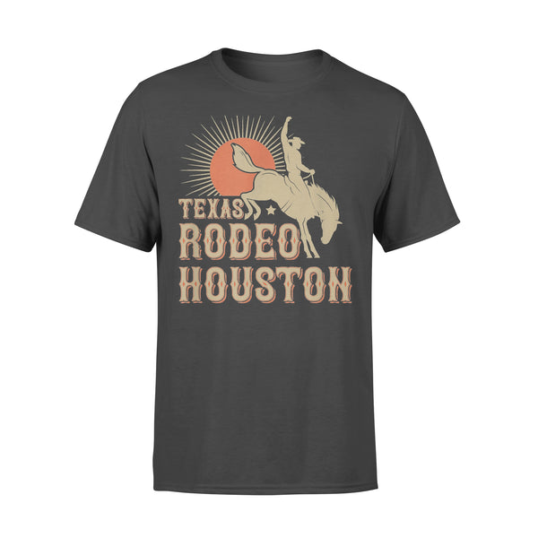 Nice Houston Texas Rodeo Vintage Western Retro Cowboy Shirt L By AllezyShirt