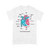 The Human Heart Anatomy Cardiologist T-shirt L By AllezyShirt