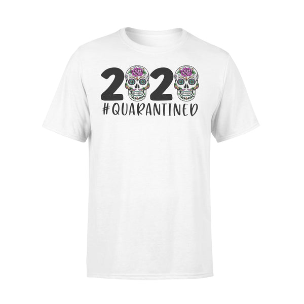Day Of The Dead Skull 2020 Quarantined T-shirt L By AllezyShirt