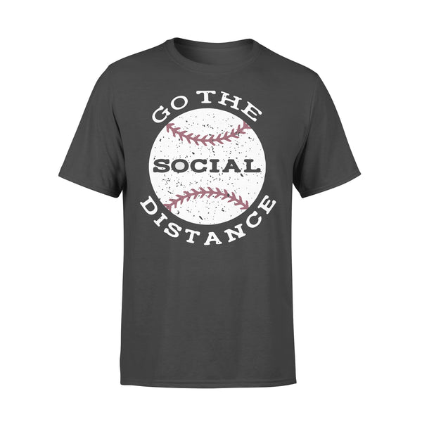 Baseball Go The Social Distance Shirt L By AllezyShirt