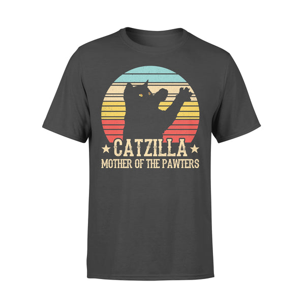 Catzilla Mother Of The Pawters Vintage T-shirt L By AllezyShirt