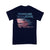 Frontline Warrior Paramedic Wife American Flag T-shirt