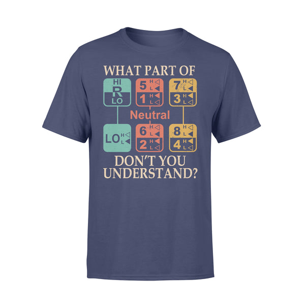 Mrt Station What Part Of Neutral Don't You Understand T-shirt XL By AllezyShirt