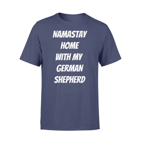 Namastay Home With My German Shepherd Shirt XL By AllezyShirt