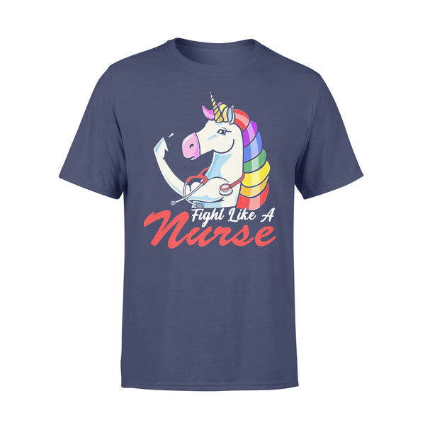 Nurse Unicorn Fight Like A Shirt XL By AllezyShirt