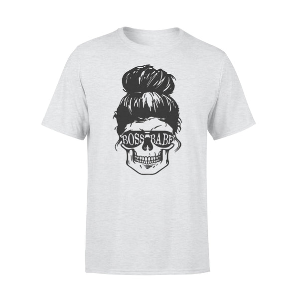Skull Boss Babe T-shirt XL By AllezyShirt