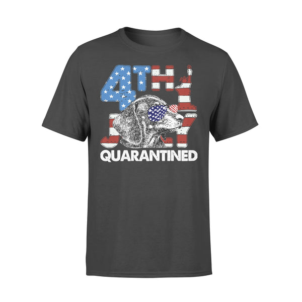 Dachshund 4Th Of July Merica Quarantined Gifts Funny T-shirt L By AllezyShirt