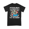 Assuming I Was Just An Old Man Was Your First Mistake Us Eagle Veteran Day T-shirt L By AllezyShirt