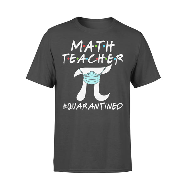 Math Teacher Pi Mask Quarantined Shirt L By AllezyShirt