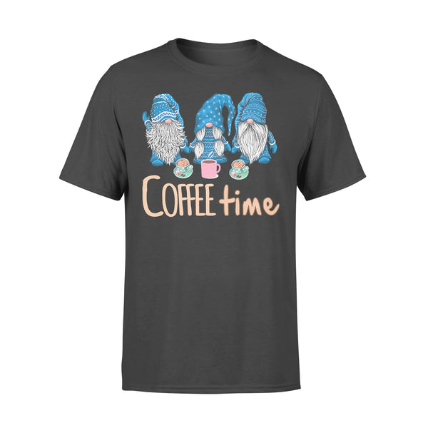 Blue Gnomies Coffee Time T-shirt L By AllezyShirt
