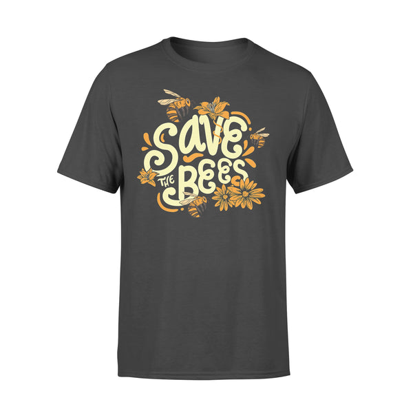 Save The Bees Flower Protection T-shirt L By AllezyShirt