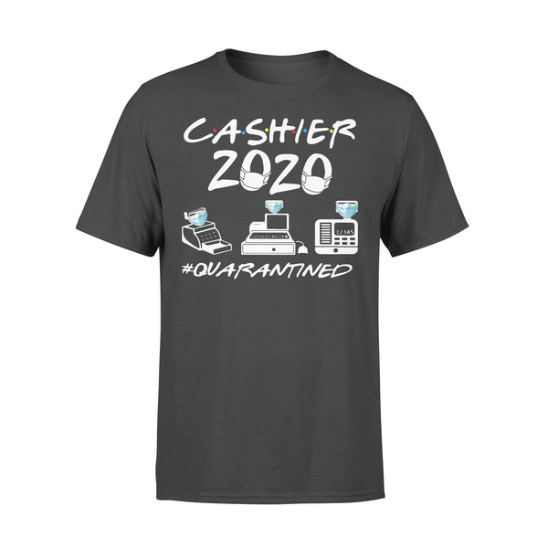 Cashier 2020 Face Mask #quarantined T-shirt L By AllezyShirt