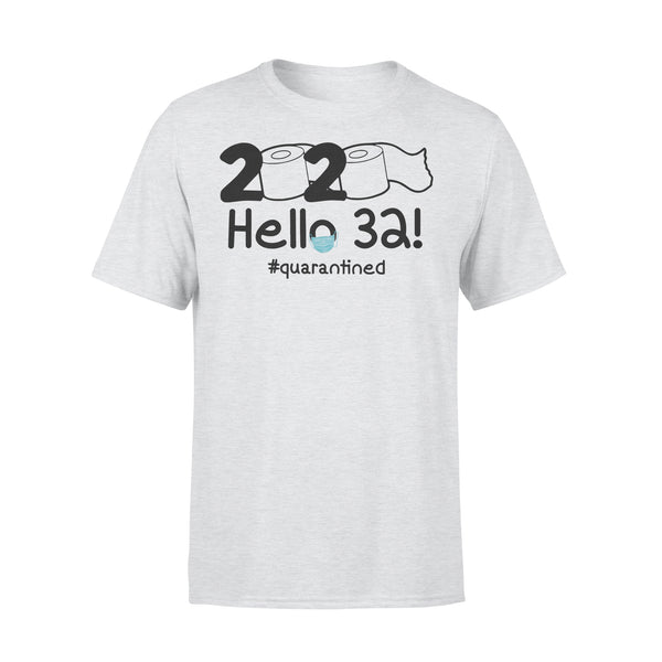 2020 Hello 32 #quarantined Shirt XL By AllezyShirt