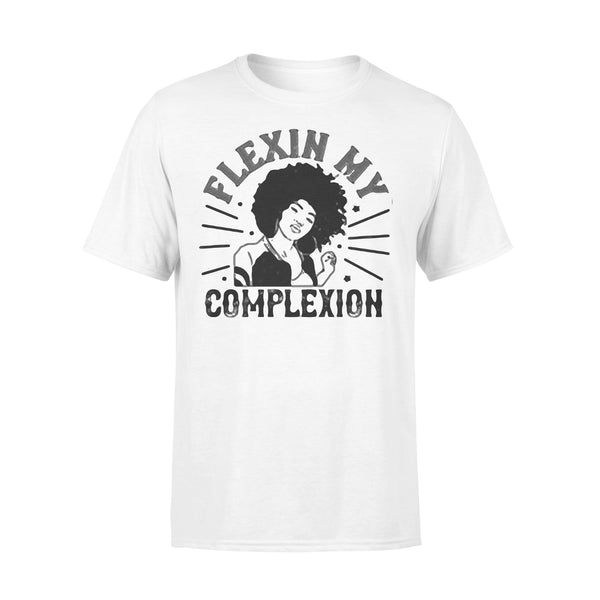 Flexin My Complexion Meaning Black Women T-shirt L By AllezyShirt