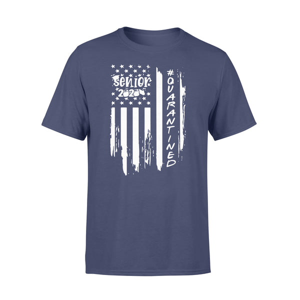 Senior 2020 Quarantine American Flag Shirt XL By AllezyShirt