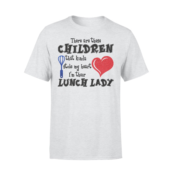 There Are These Children That Kinda Stole My Heart I'm Their Lunch T-shirt XL By AllezyShirt