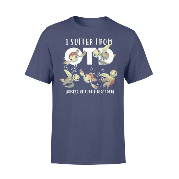 I Suffer From Otd Obsessive Turtle Disorder Shirt XL By AllezyShirt