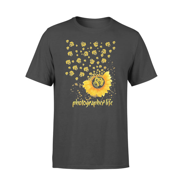 Photographer Life Sunflower T-shirt L By AllezyShirt