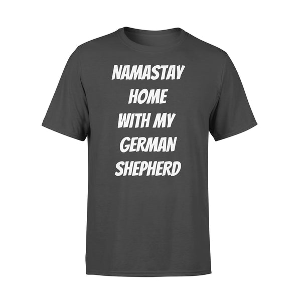 Namastay Home With My German Shepherd Shirt L By AllezyShirt
