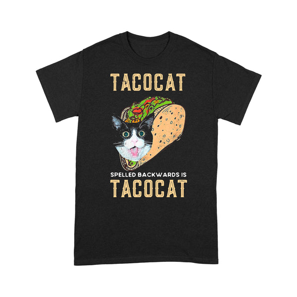 Food Lover Tacocat Spelled Backwards Is Tacocat T-shirt S By AllezyShirt