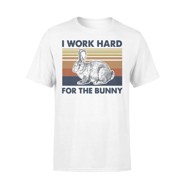 I Work Hard For The Bunny Vintage T-shirt L By AllezyShirt