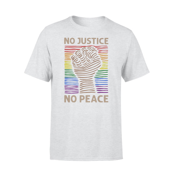 Lgbt No Justice No Peace T-shirt XL By AllezyShirt