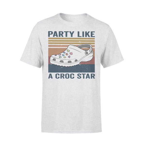Party Like A Croc Star Vintage T-shirt XL By AllezyShirt