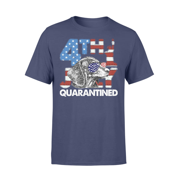 Dachshund 4Th Of July Merica Quarantined Gifts Funny T-shirt XL By AllezyShirt