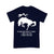 Equestrian My Horse Only Spooks At 2 Things T-shirt