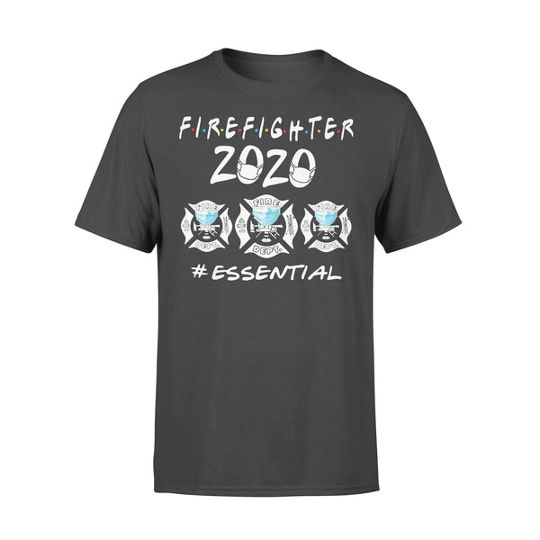 Firefighter Logo 2020 Mask Essential Shirt L By AllezyShirt