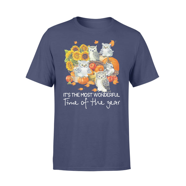 Owls Gang It's The Most Wonderful Time Of The Year T-shirt XL By AllezyShirt