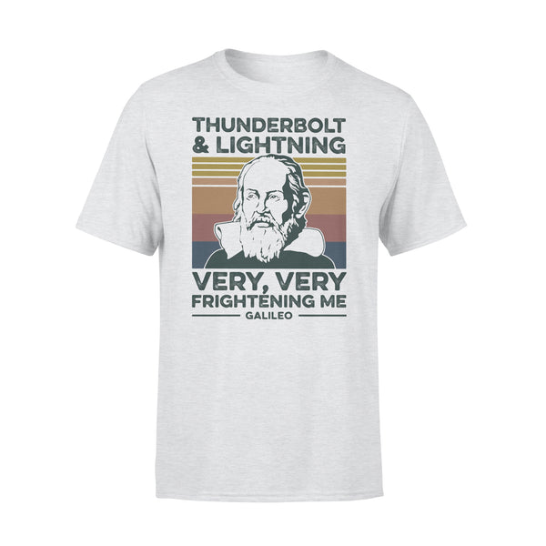 Thunderbolt And Lightning Very Very Frightening Me Galileo Vintage 2020 Shirt XL By AllezyShirt