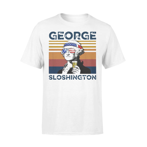 Vintage George Sloshington T-shirt L By AllezyShirt