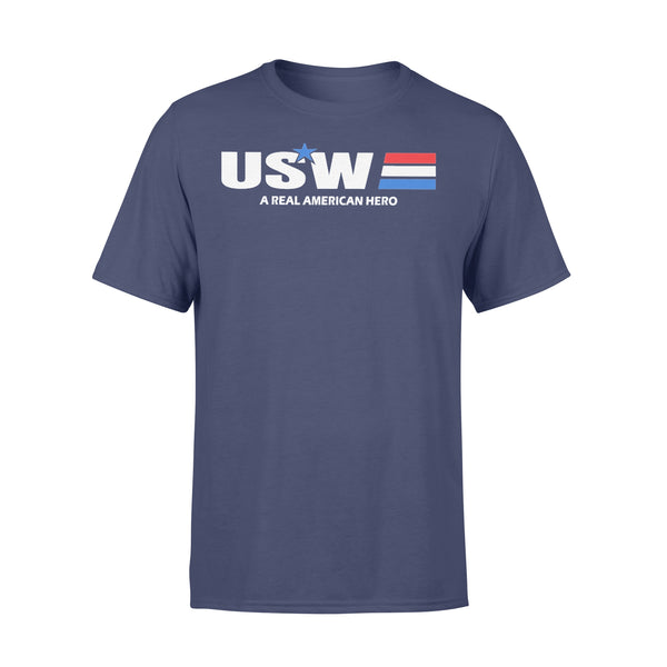 Usw A Real American Hero Star T-shirt XL By AllezyShirt