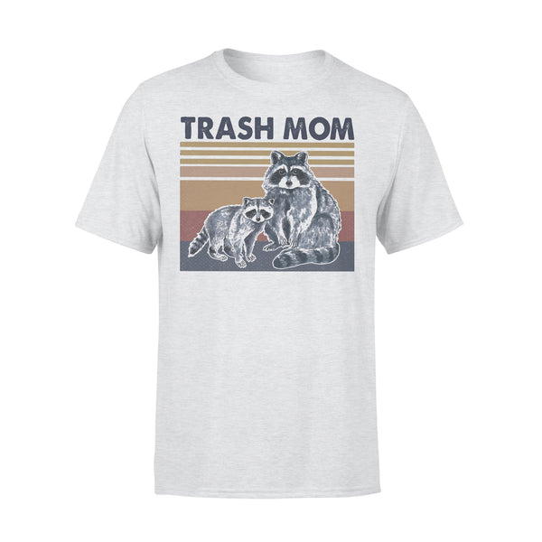 Raccoon Trash Mom Vintage Retro T-shirt XL By AllezyShirt