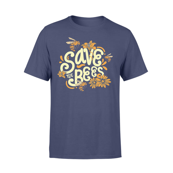 Save The Bees Flower Protection T-shirt XL By AllezyShirt