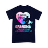 Autism It Takes A Special Grandma To Hear What A Grandson Cannot Say Heart T-shirt M By AllezyShirt